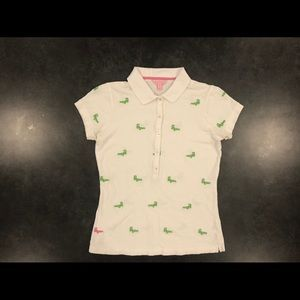 Lilly Pulitzer - Polo - Alligator embroidered